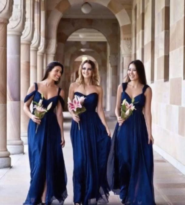 Mariage : les tendances 2019 des robes de demoiselles d'honneur