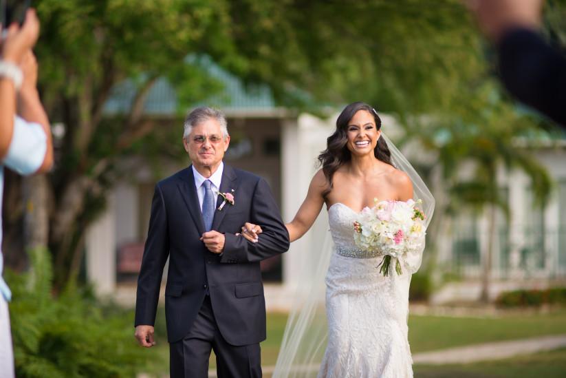 Tuto mariage : Entrée de la mariée à la cérémonie