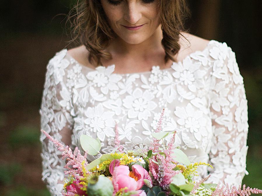 Fleuriste mariage en Bretagne : interview de Mint & Sweet Pepper • Artiste fleuriste