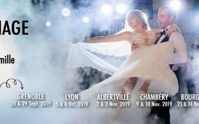 Salon du mariage 2019 à Lyon Eurexpo